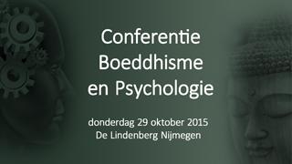 Conferentie Boeddhisme en Psychologie